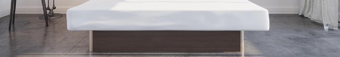 Freistehende Betten - Wasserbetten mit Unterbau-Sockel